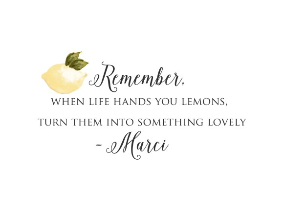 Lemons to Lovelys www.lemonstolovelys.com