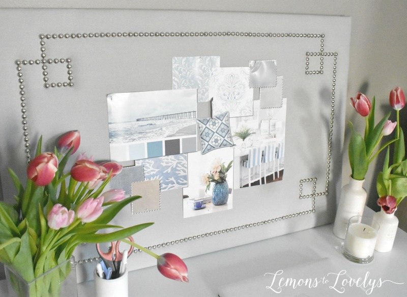 Joyful Spring Home Tour New Desk by hayneedle.com . See more pictures at www.lemonstolovelys.com