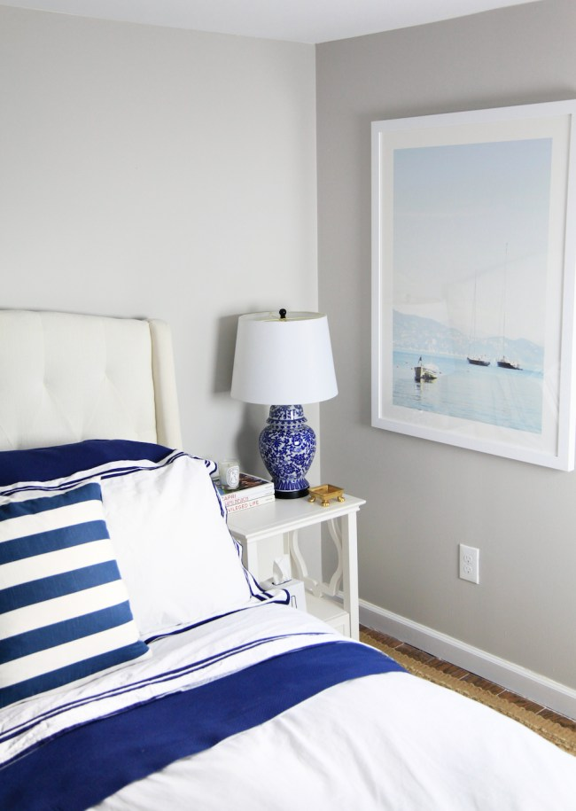 Navy Guest Bed