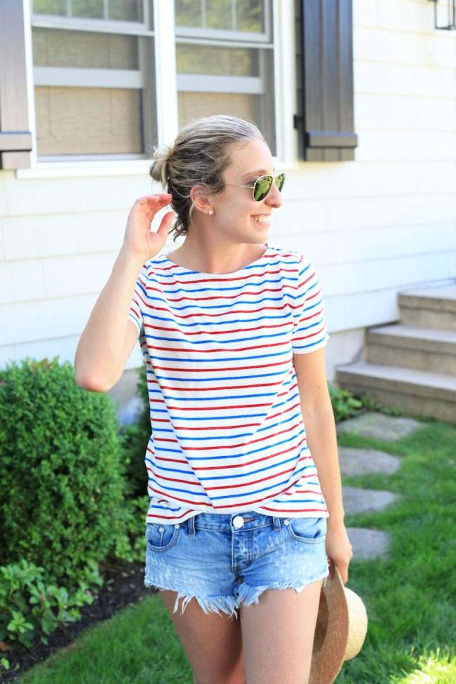J.Crew Factory Striped Shirt
