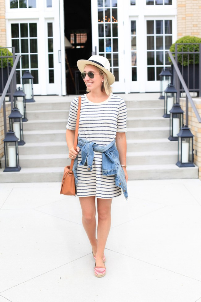 Lemon Stripes in Classic Summer Stripes