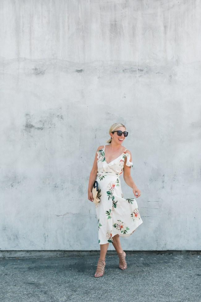 Lemon Stripes in a Topshop Dress