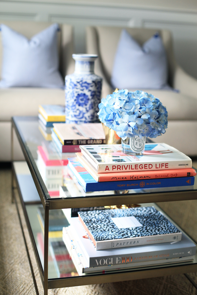 Decorating With Coffee Table Books - Coffee table that looks like books
