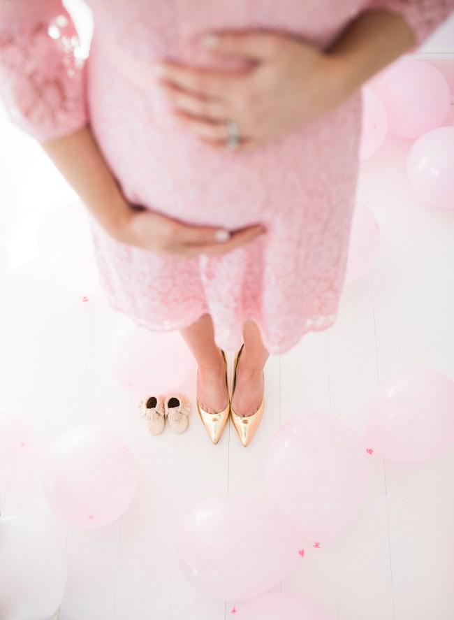 Julia Dzafic Pregnancy Bump