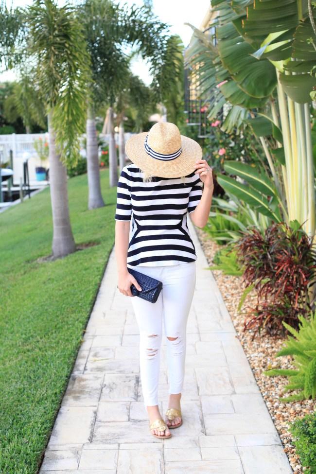 Lemon Stripes Hat Attack