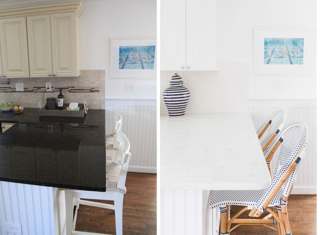 Julia Dzafic Kitchen Before and After