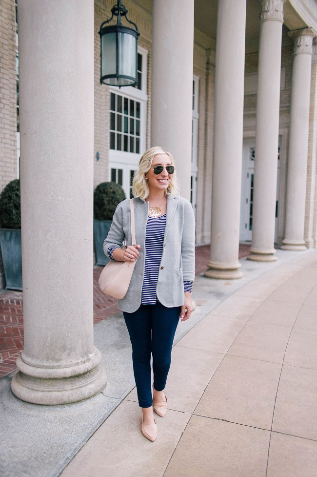 J.Crew Sweater Blazer