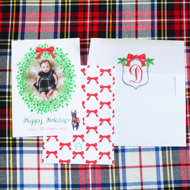 Carrie and Seash Holiday Cards