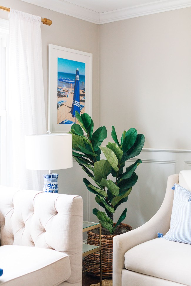 Faux Fiddle Fig Leaf