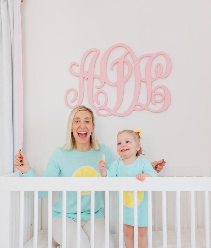 For Mamas - Lemon Stripes