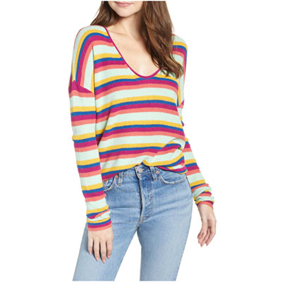Striped Thermal Sweater