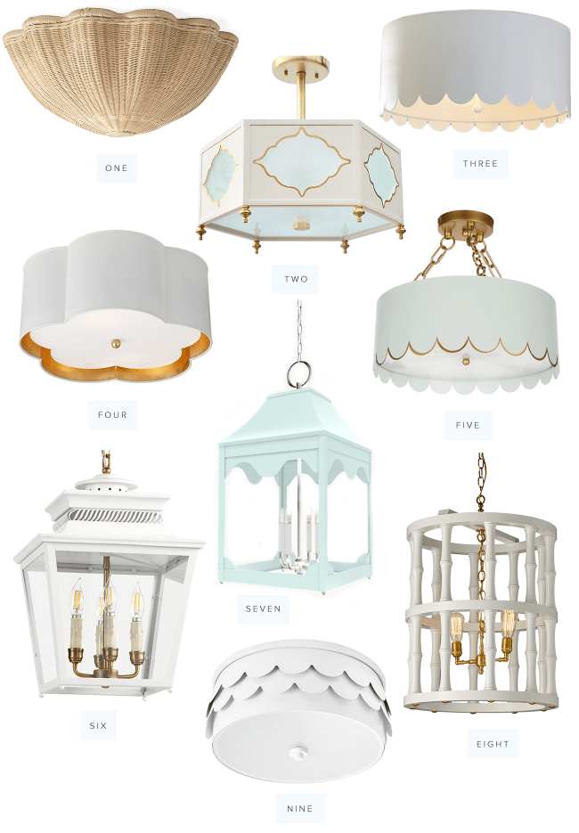 Preppy Entryway Lights
