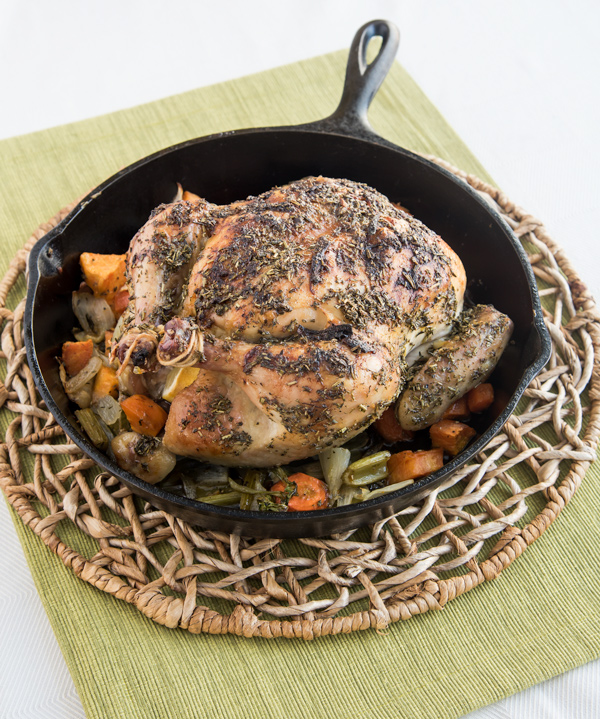Lemon Herb Roast Chicken, recipe.