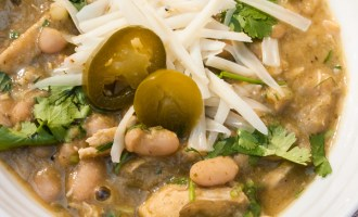 Supreme White Chicken Chili, comfort food Recipe
