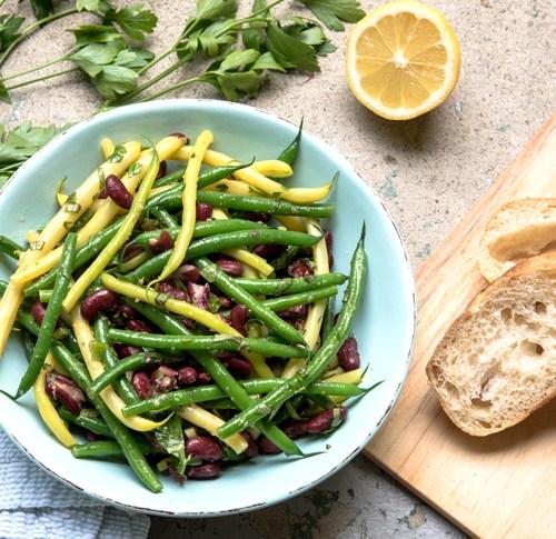 Green Bean Salad with Lemon Ginger Vinaigrette