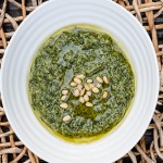 My Favorite Basil Pesto reicpe