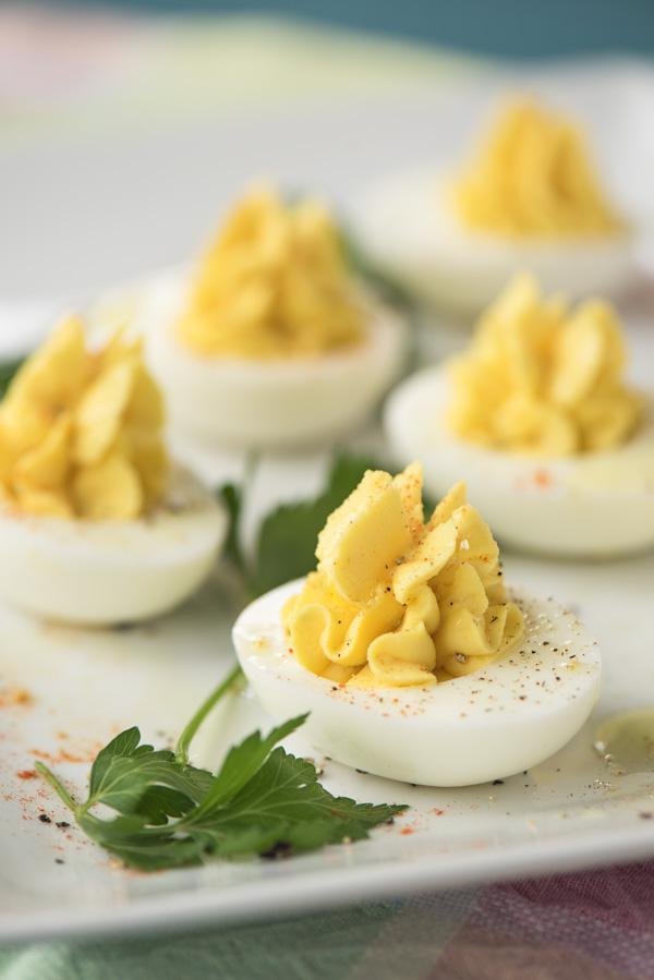 Deviled Eggs, 4 Ways a recipe.