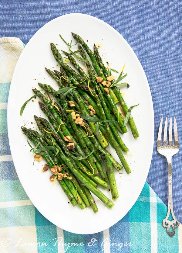 Early Spring Asparagus, a recipe