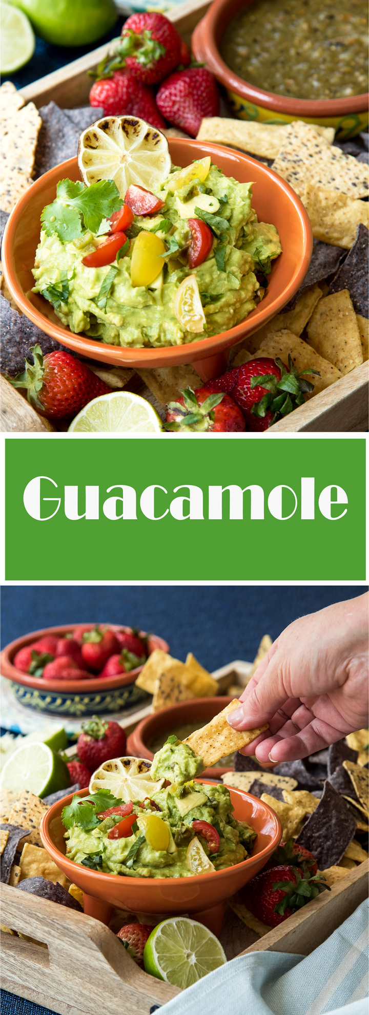Family Favorite Guacamole. How to make delicious guacamole. Start with the foundation recipe, then adjust the flavor with roasted tomatillos, or salsas for the perfect guacamole every time.