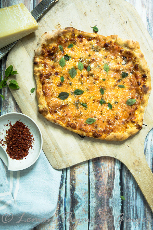 Four Cheese Pizza recipe.