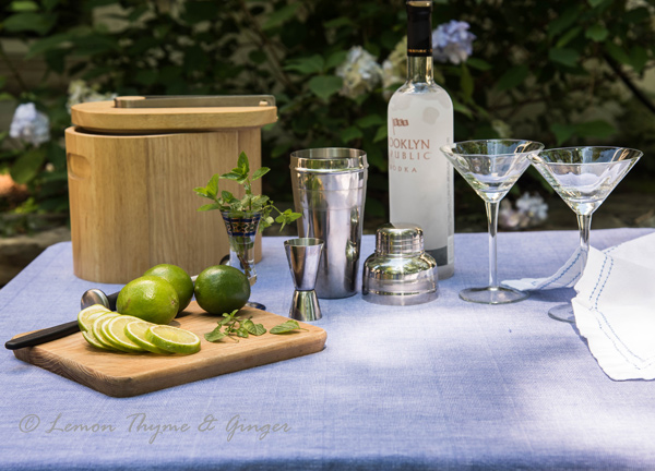 Refreshing Vodka Gimlet with Lime, recipe.