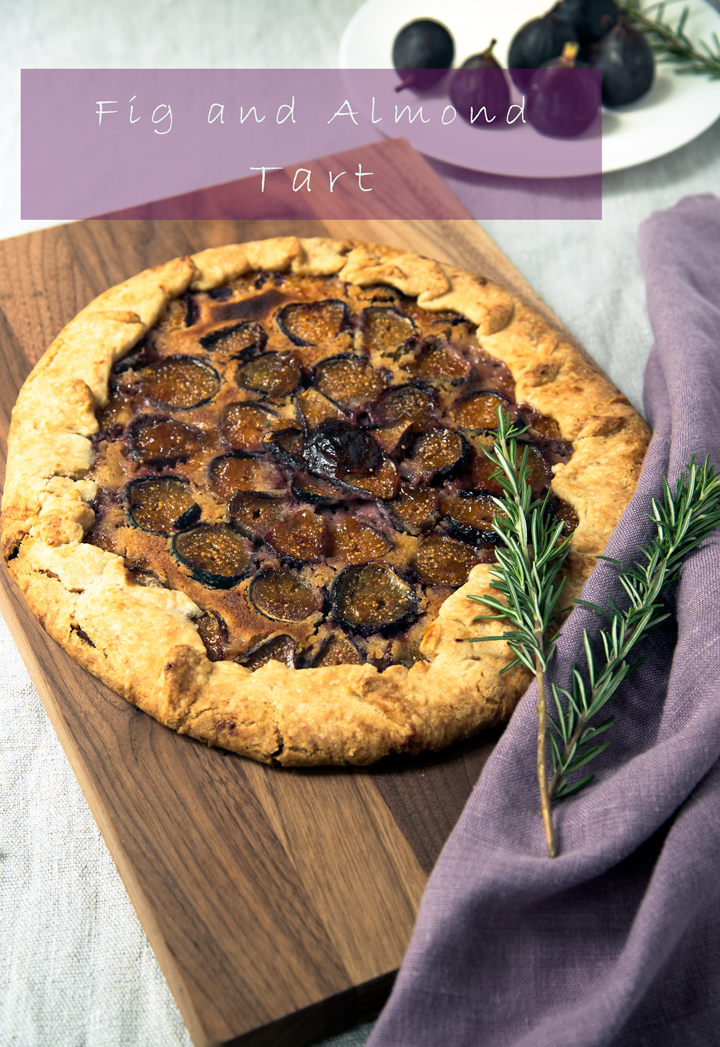 Dessert Tart Recipe: Fig and Almond Tart. A sophisticated dessert tart recipe made with fresh figs, almond paste, and mascarpone cheese. It tastes and looks very impressive, yet is simple to make.