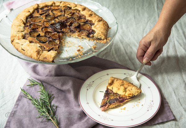 Dessert Tart Recipe: Fig and Almond Tart