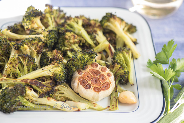 Roasted Broccoli and Garlic recipe