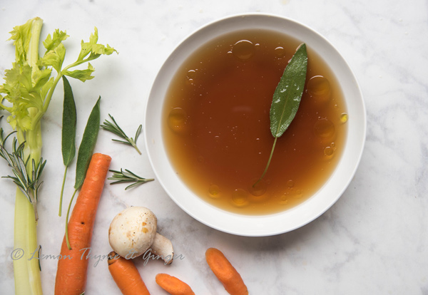 Roasted Vegetable Stock Recipe.