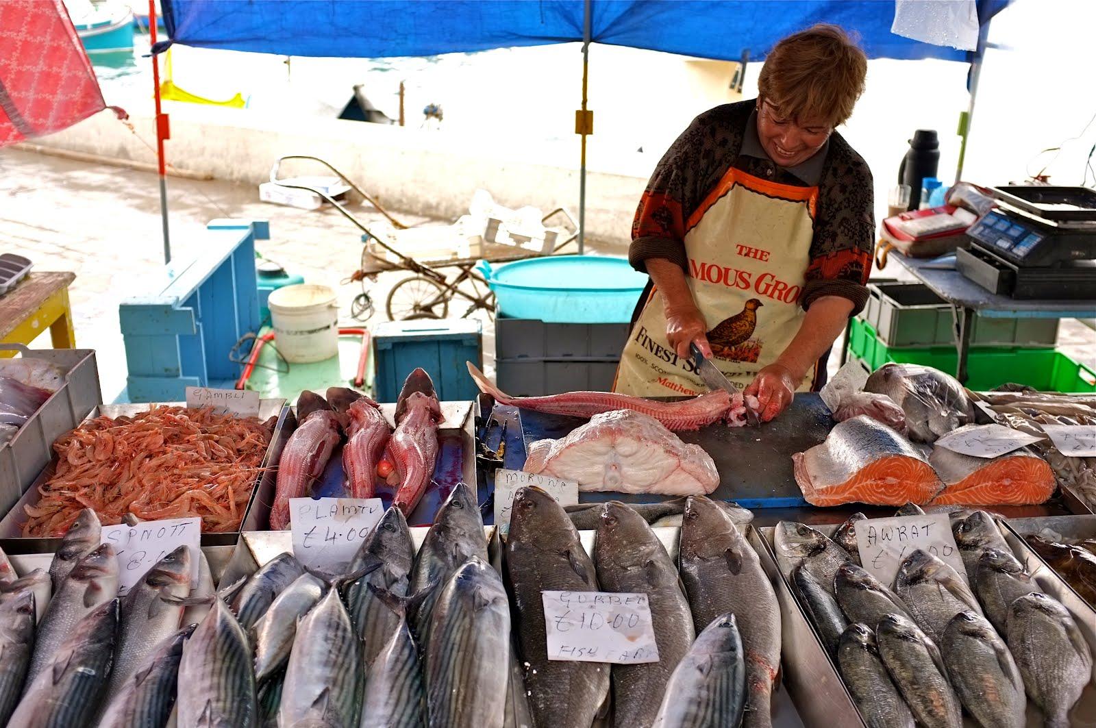 Fish Festival in Marsaxlokk