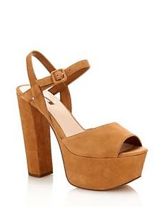 Guess suede platform sandal 190€