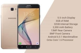 Spesifikasi Samsung J7 Prime, Samsung J7 Prime