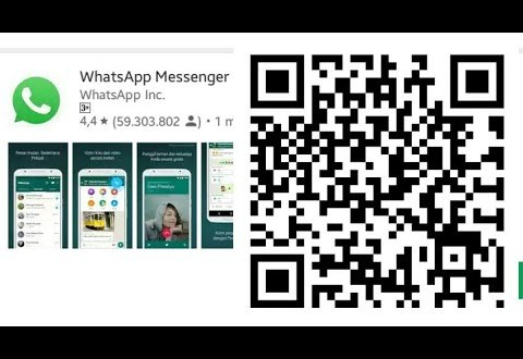 kode qr, kode qr wa, kode qr whatsapp, Cara Melihat Kode QR WA