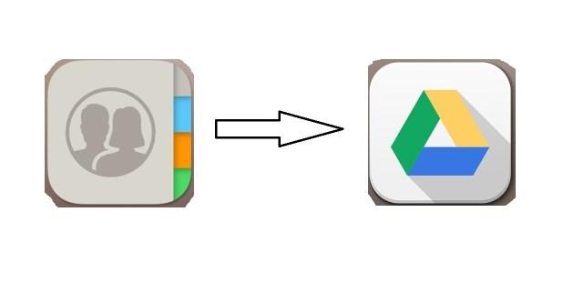 Cara Mudah Backup Kontak iPhone ke akun Google drive