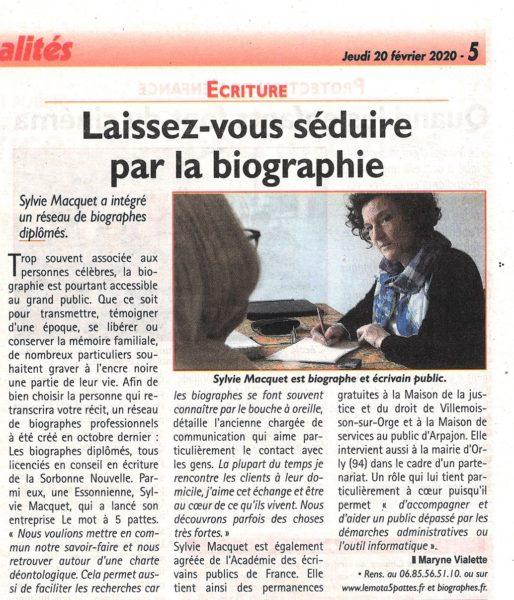 Biographie réseau Républicain Essonne