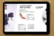 rédaction rédaction multicanal conception rédaction rédaction sur tablette rédaction de contenus éditoriaux Céline Plunian freelance 3Suisses
