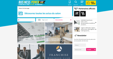 RUBRIQUE ACTU SALON BUSINESS POWER / SALON CRÉER 2018