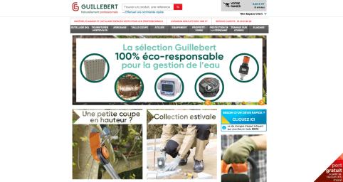 SITE INTERNET GUILLEBERT.FR - 2018
