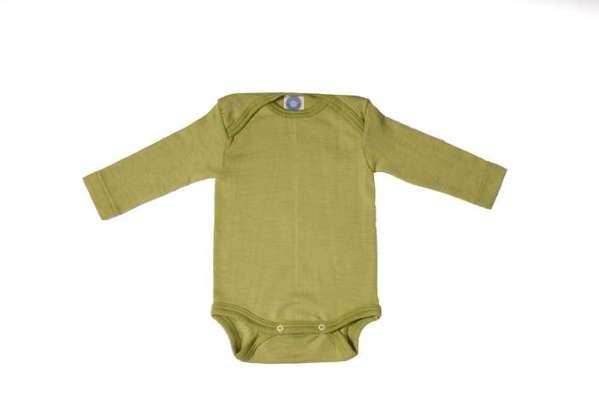 body bébé laine et soie Cosilana laine merinos bio