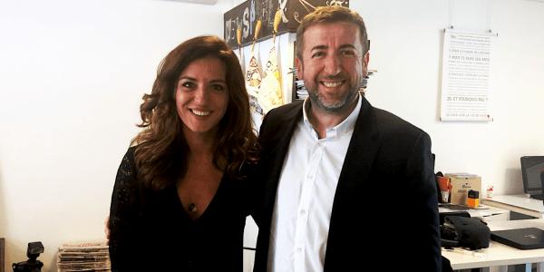 Coralie Dubost et Jérôme Toulza, jeudi 17 octobre 2019