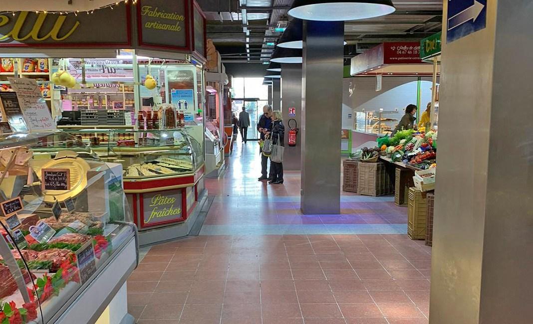 Sète marché intérieur