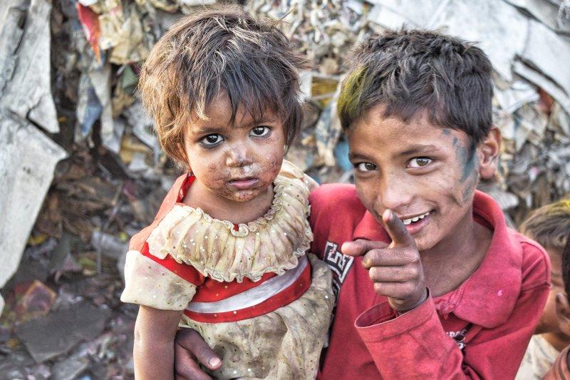 Enfants pauvreté Inde