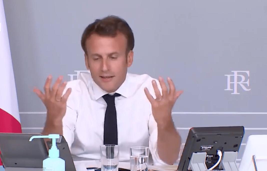 Macron et la culture le mercredi 6 mai 2020