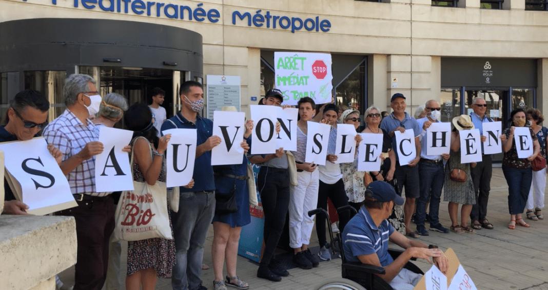 Urbanisation Castelnau-le-Lez juin 2020