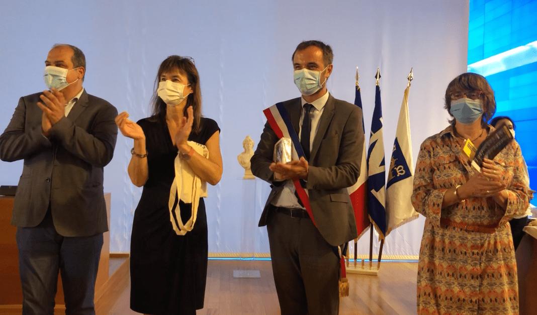 Boursiers Bac mention TB cérémonie de mise à l'honneur