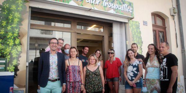Le 4 août dernier, un nouveau concept store a ouvert ses portes au public à Frontignan la Peyrade en présence du nouveau maire de la Ville.