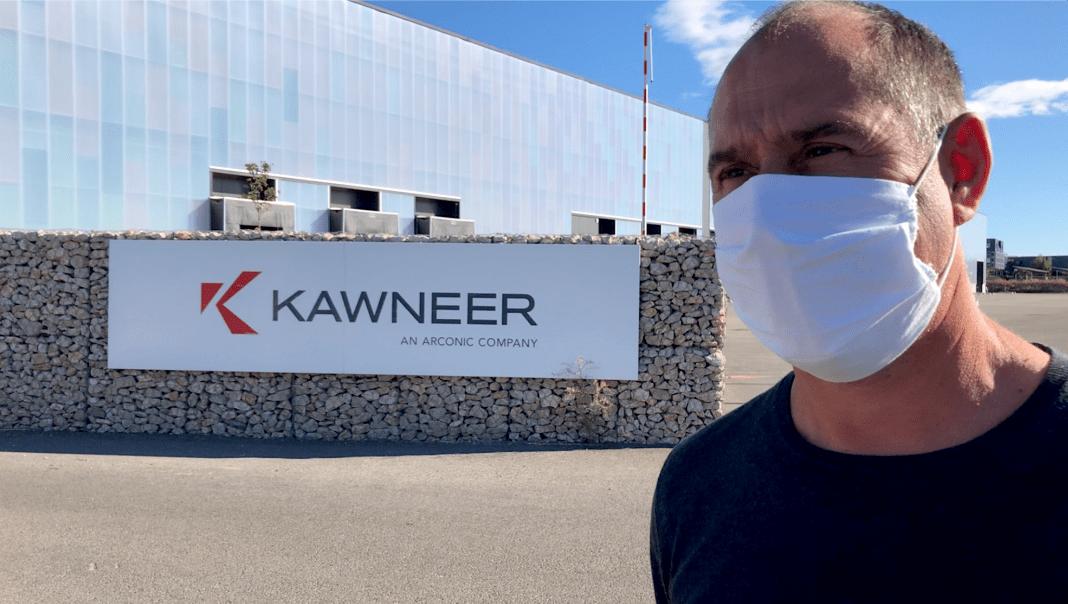 Kawneer, grève illimitée