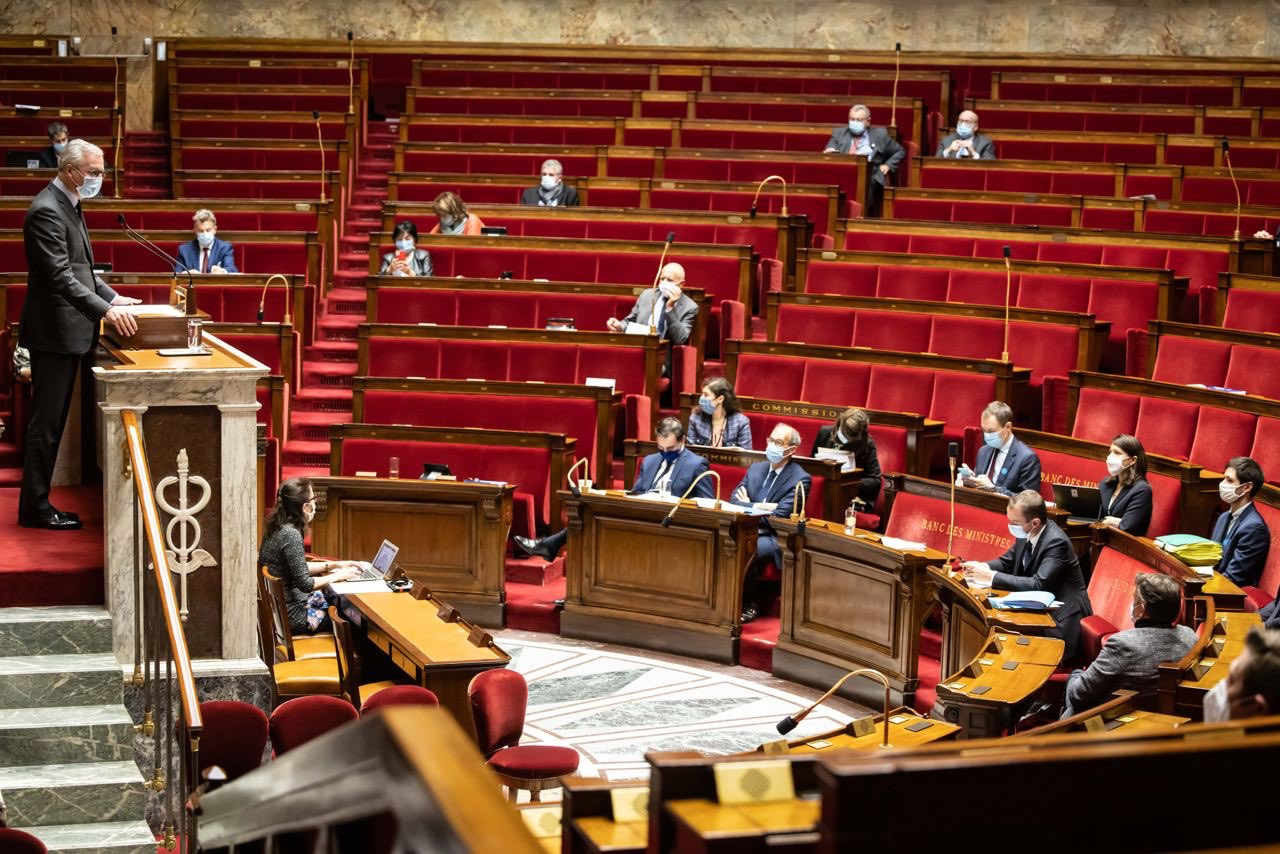 Bruno Le Maire 27 octobre 2020 Assemblé Nationale