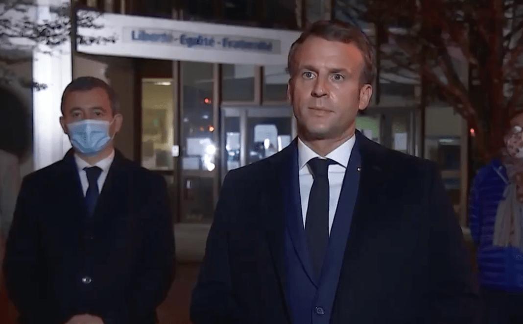 Emmanuel Macron 16 octobre 2020