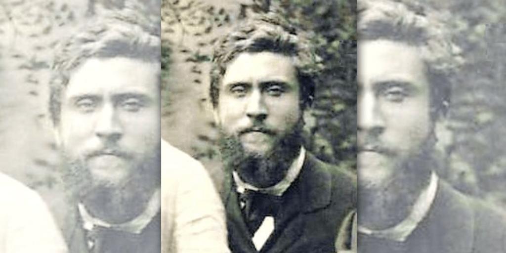 Jean Jaurès en 1878, à l'École normale supérieure